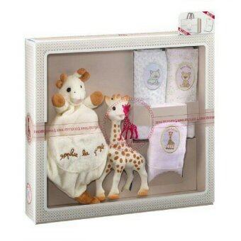 Harga ยางกัดธรรมชาติ Sophie la girafe Sophiesticated - the Muslins Set