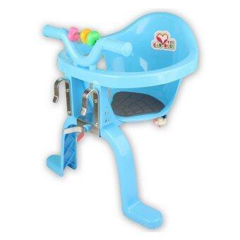 ที่นั่งเด็กเสริมจักรยาน (สีฟ้า)