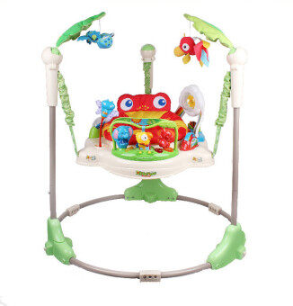 baby_kidsonline เก้าอี้กระโดด Jumperoo Rain Forest - Red/Green