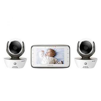 Harga GPL/ Motorola MBP854CONNECT-2 Dual Mode Baby Monitor with 2 Cameras and 4.3-Inch LCD Parent Monitor and Wi-Fi Internet Viewing/ship from USA - intl