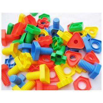 Baby Station ของเล่นเสริมพัฒนาการ ชุดน๊อตหลากสี ฝึกกล้ามเนื้อมือ
