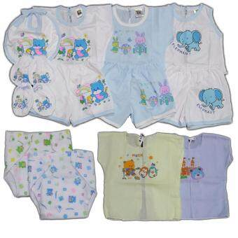 BABYKIDS95 ชุดเด็กอ่อน แรกเกิด-6 เดือน รวม 15 ชิ้น (cc-046)