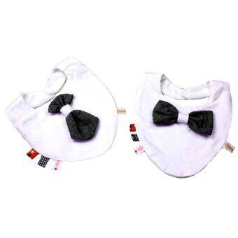 Baby ผ้ากันเปื้อนผ้า สามเหลี่ยม set 2 ผืน รุ่น 106- 2 ชิ้น