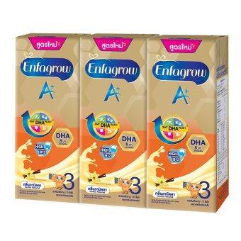 ขายยกลัง Enfagrow A+ 3 UHT กลิ่นวานิลลา (24 กล่อง)