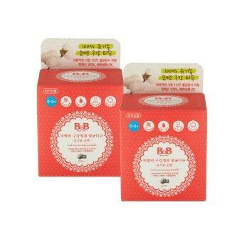 ฺB&B ทิชชูเช็ดทำความสะอาดภายในช่องปากเด็ก รุ่นใหม่ (2 กล่อง)