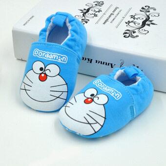 เปรียบเทียบราคา ประสาเด็กแรกเกิดเด็กอ่อนรองเท้าแตะรองเท้าผู้หญิง SkidproofPrewalkers 0.., 18เดือน Doraemon ขายดี