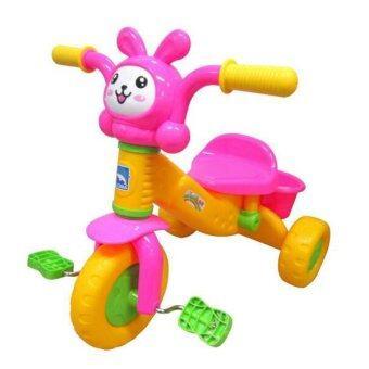 Thaiken รถจักรยานเด็ก 3ล้อ Rabbit (สีแดง-ชมพู)
