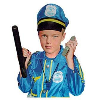 Harga Children Role-play Costume Accessories Pretend Play Set,Police Costume - intl