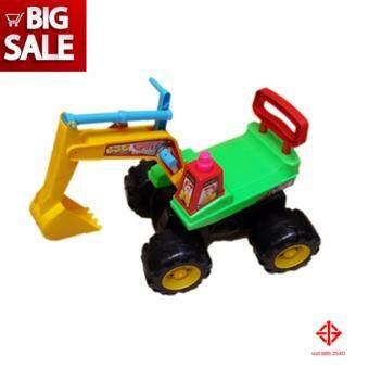 Toys รถแม็คโครจัมโบ้ เด็กนั่ง รถเด็ก รถเด็กเล่น