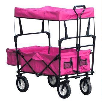 รถเข็นเด็ก Aida And Wagon รุ่น Full Option (สีชมพู)