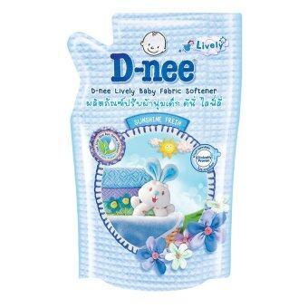 ขายยกลัง D-Nee น้ำยาปรับผ้านุ่ม ไลฟ์ลี่ กลิ่น Sunshine Fresh ขนาด 600 มล. (12 ถุง/ลัง)
