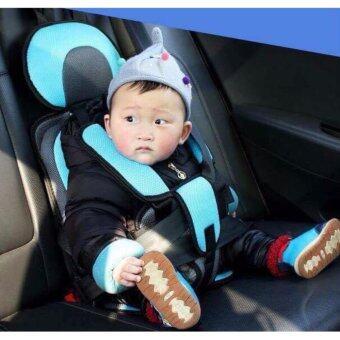 คาร์ซีทแบบพกพา (Child Car Seat) ที่นั่งในรถสำหรับเด็ก (สีฟ้า)
