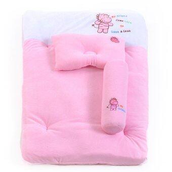ชุดที่นอนปิคนิคผ้าขนหนู 24 X 40 นิ้ว (สีชมพู)