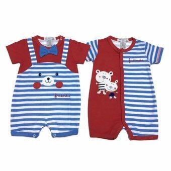LITTLE BABY M เสื้อผ้าเด็กเล็ก ชุดหมีแพ็คคู่ R29