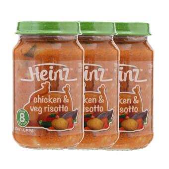 ขายยกลัง Heinze Chicken & Vegetables เนื้อไก่ผสมผัก 170 G (แพค 3)
