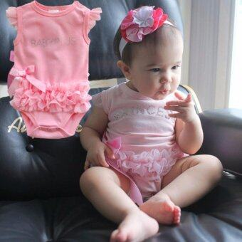 baby princess (Pink) พร้อมที่คาดผม