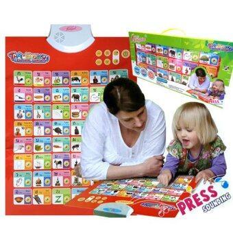 Kids Toys โปสเตอร์สอนภาษาไทย-อังกฤษ อิเล็กทรอนิกส์ หน้าจอระบบสัมผัส