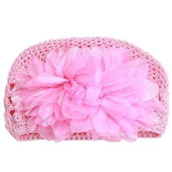 ได้แก่ เฉียวถักหมวกแรกเกิดหายใจสำหรับ 3.., 18เดือนสีชมพู