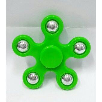 Fidget Spinner / Hand Spinner ของเล่นฝึกสมาธิ (สีเขียว)