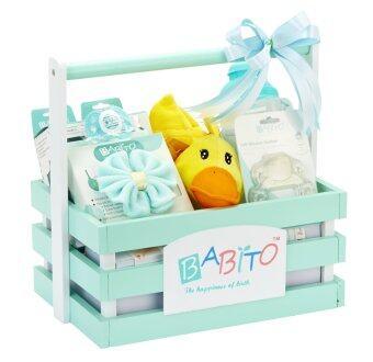 Babito ชุดกระเช้ารับขวัญเด็กแรกเกิด รุ่น รักษาโลกเขียว - GG2