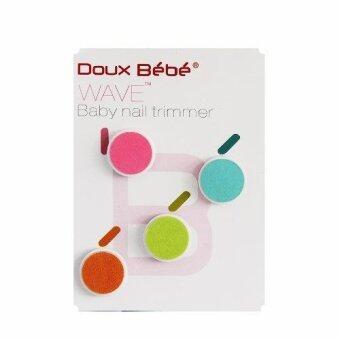 แผ่นเสริมตะไบเล็บเด็ก Doux Bebe WAVE Baby Nail Trimmer