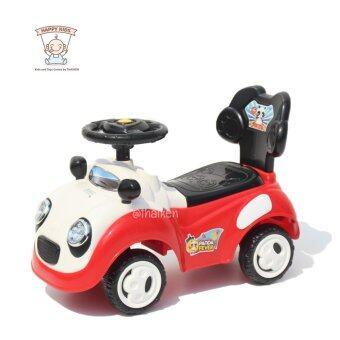 ขาไถแพนด้า1134 (สีแดง) Panda Toddle Ride-on