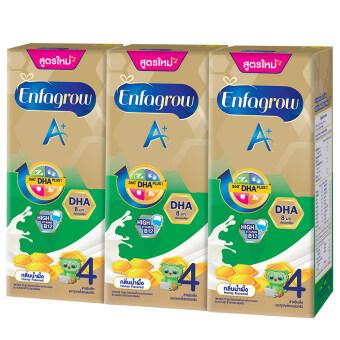 ขายยกลัง! Enfagrow A+ 4 UHT กลิ่นน้ำผึ้ง (24 กล่อง)