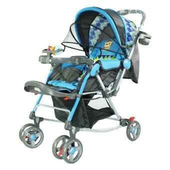 Thaiken รถเข็นเด็กเล็ก 218 (สีฟ้า)