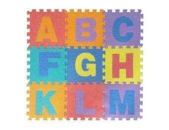 BaByBlue Toy แผ่นรองคลานEVA แบบจิ๊กซอร์ ลาย ABC (1 set มี 26 แผ่น)