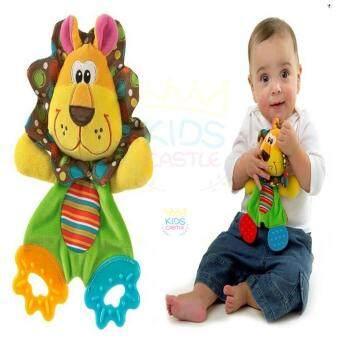 Sozzy ตุ๊กตายางกัดเสริมพัฒนาการ สิงโต