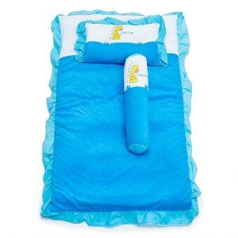 ที่นอนปิกนิคผ้าขนหนู NATUR - สีฟ้า 22 x 36 นิ้ว