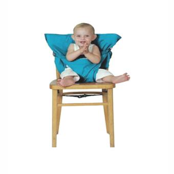 Baby Sack n Seat ที่นั่งเด็กคล้องเก้าอี้ แบบพกพา (สีฟ้า)