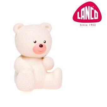 ลังโก้ - หมีขาว - ของเล่นออร์แกนิกทำจากยางพาราแท้ (แฮนด์เมดจากสเปน)