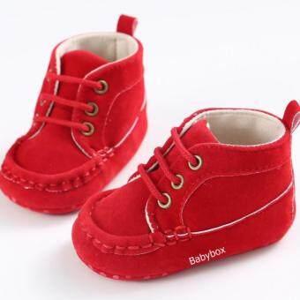 รองเท้าเด็กหัดเดิน รองเท้าเด็กอ่อน รองเท้าเด็กเล็ก รองเท้าเด็กพื้นผ้าทรงหุ้มข้อ