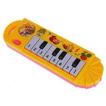 Harga Baby Infant Toddler Kids Musical Piano Developmental Toy Early Educational Pink Yellow Random Delivery- - intl