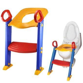 ฝารองชักโครกเด็ก มีบันได ฝึกนั่งในห้องน้ำLadder Potty Trainer