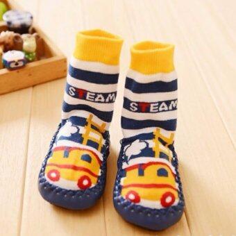 ถุงเท้าสำหรับวัยหัดเดินแบบมีปุ่มกันลื่น
