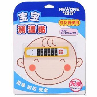 แถบวัดไข้ วัดอุณหภูมิร่างกายเด็ก ที่หน้าผาก Newone Head Temperature