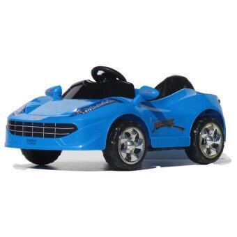 Thaiken รถเก๋งเด็ก เฟอรารี่ (สีน้ำเงิน)