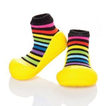 Attipas รองเท้าหัดเดิน รุ่น Rainbow Yellow– AR05-Yellow