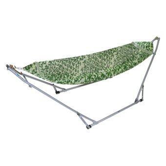 Banmai เปลญวนเด็ก Premium (ลายสีเขียว)