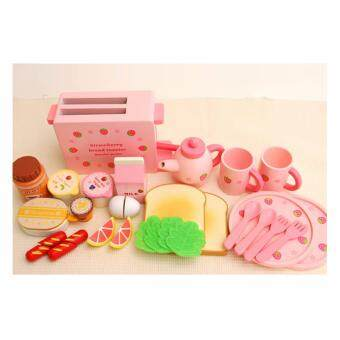 Harga SK-Toys Mother Garden Strawberry Bread Toaster ชุดที่ปิ้งขนมปัง (non-toxic)
