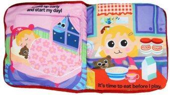 smartbabyandkid หนังสือผ้า Lamaze Amily's Day