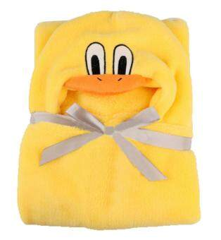 niceEshop 3D Duck Baby Infant Newborn Hooded Bath Towel Blankets (image 3)
