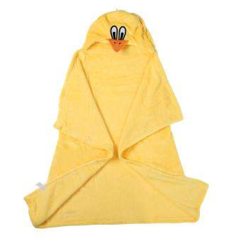 niceEshop 3D Duck Baby Infant Newborn Hooded Bath Towel Blankets (image 4)