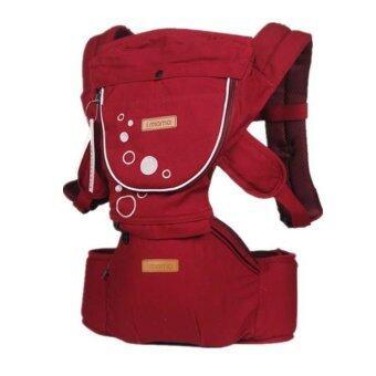 Madamphooh เป้อุ้มเด็ก Hip Seat Carrier พร้อมที่นั่งคาดเอว (สีแดง)