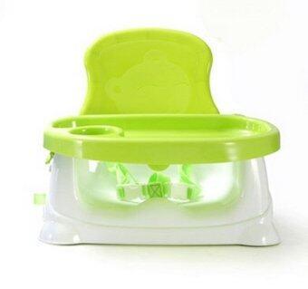 Babyhood เก้าอี้กินข้าวเด็กแบบพกพา - สีเขียว