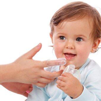 ซิลิโคนทำความสะอาดลิ้นและช่องปากเด็กอ่อน