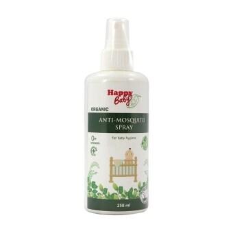 Happy Baby Organic Antimosquito Spray สเปรย์กันยุงออร์แกนิกส์ แฮปปี้เบบี้ 250 ml