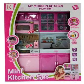 KUK TOY ชุดครัว ชุดครัวมินิ สำหรับตุ๊กตา 5615